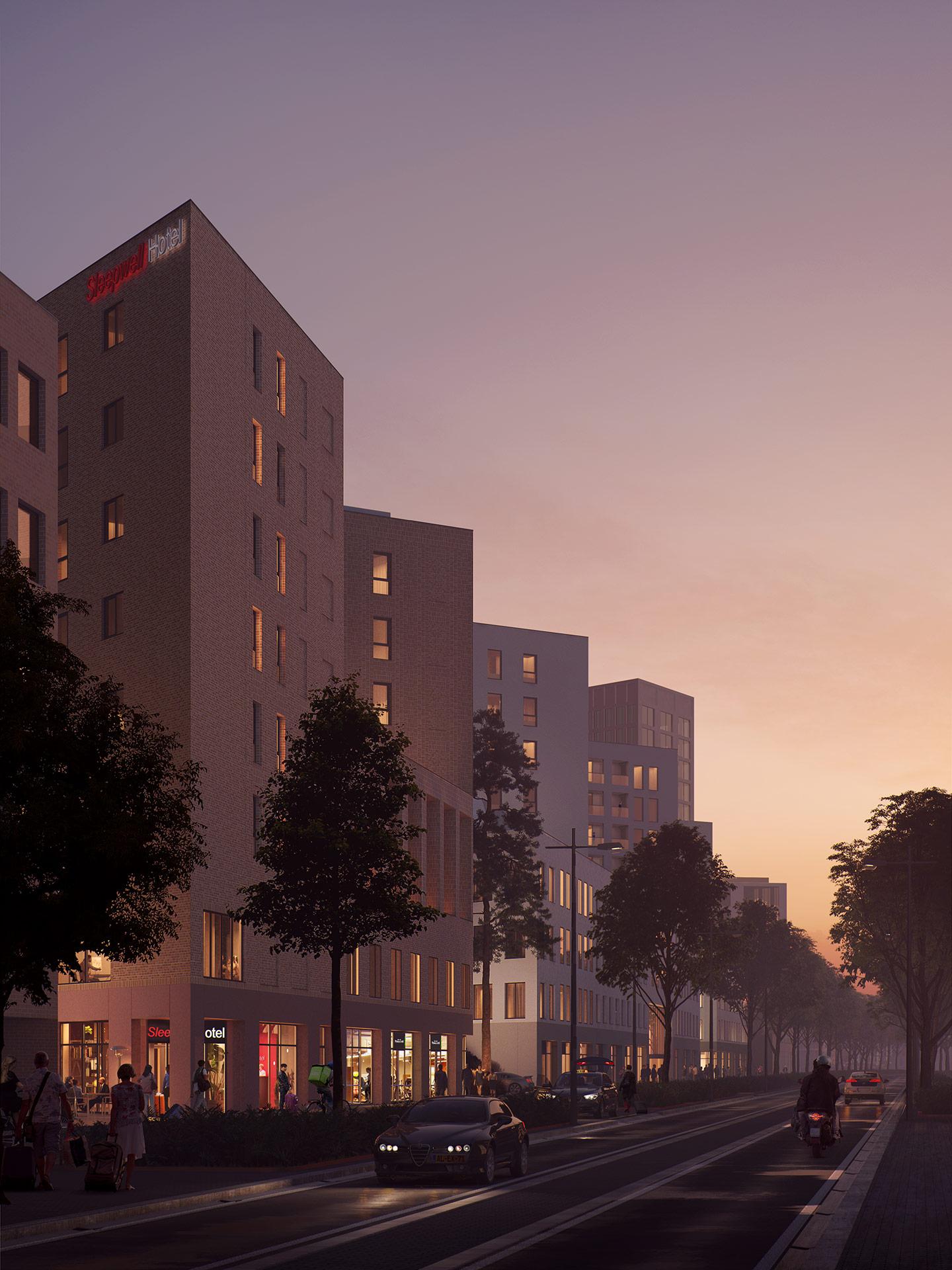 Nieuwbouw Breda - Blades Final - 5Tracks Breda