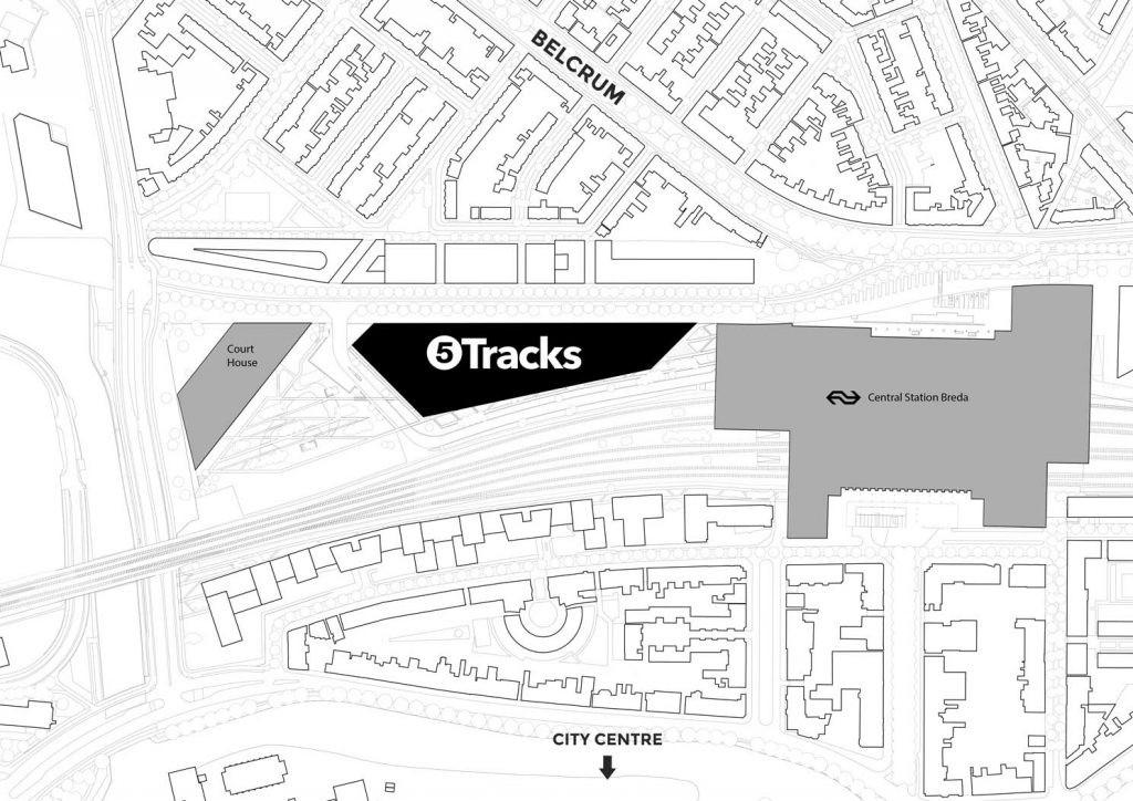 Breda- 'Geen files of parkeeroverlast door komst 5Tracks naast station' - Nieuws - 5Tracks Breda
