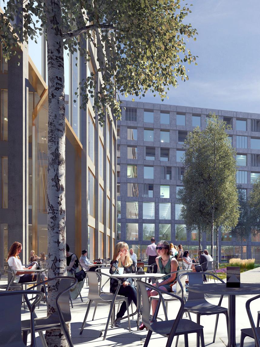 Nieuwbouw Breda - Aanzicht vanaf de Stationslaan - 5Tracks Breda