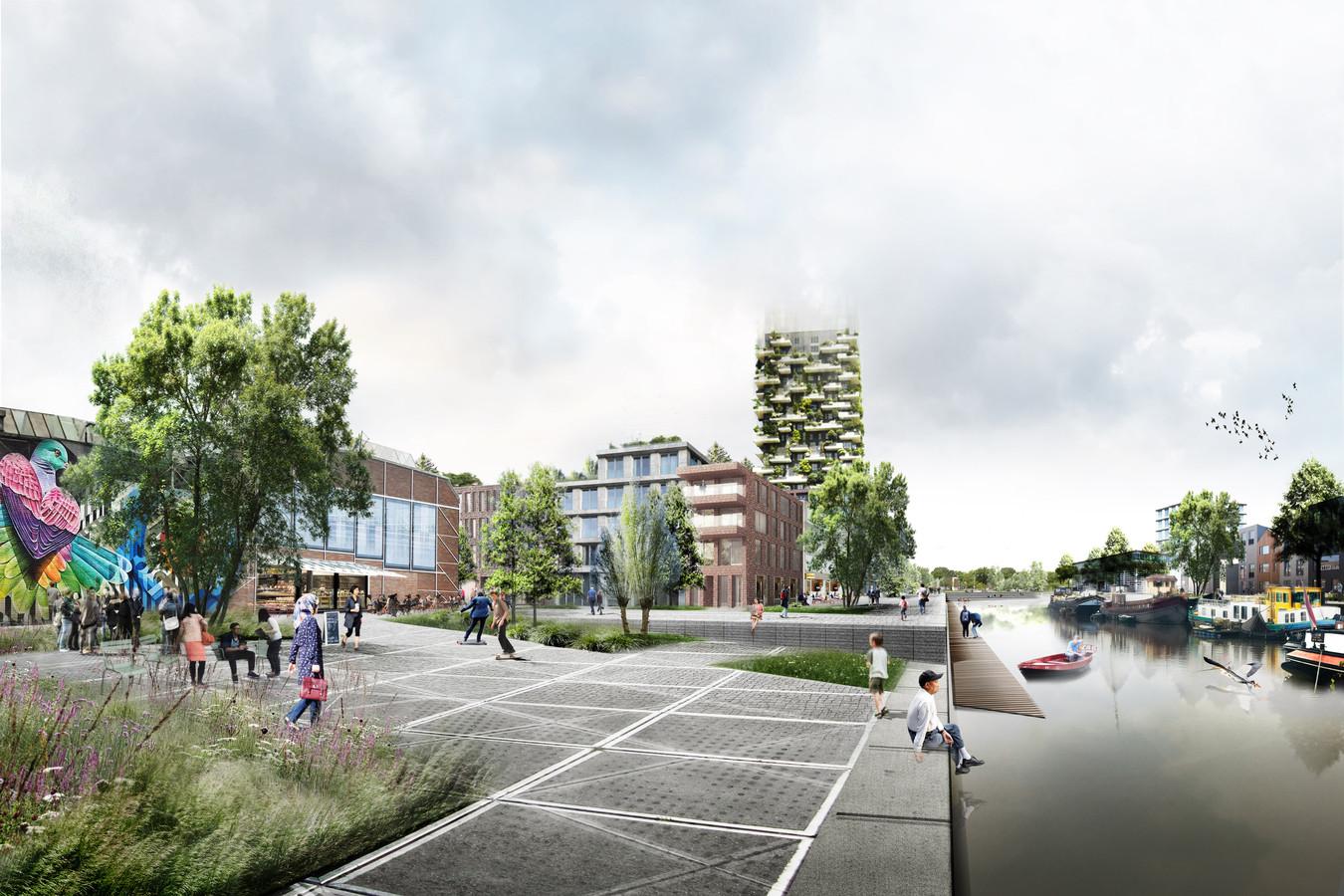 Spoorzone Breda- 'Nieuwe Europese stadswijk aan het water' - Promenade - Nieuws - 5Tracks Breda